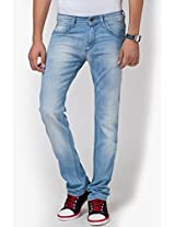 Blue Narrow Fit Jeans (Powell)
