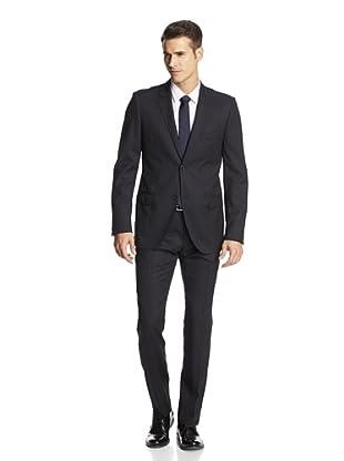 Calvin Klein Collection Men's Hudson Two Button Suit (Sapphire Blue)