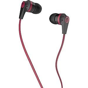 Skullcandy S2IKDZ-010 Ink'd 2.0 Headphone (Black/Red)