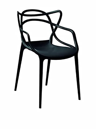 Control Brand Sebastian Arm Chair, Black