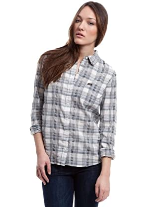 Lee Camisa Chill (Blanco / Azul / Negro)