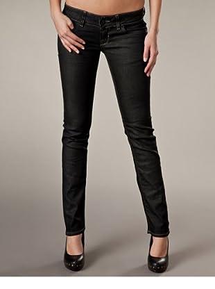 LTB Jeans Skinny Fit Low Rise (Schwarz)