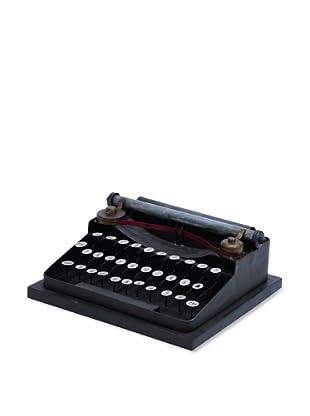 Decorative Metal Typewriter