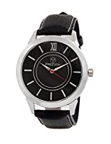PREEZON Black Dial Analogue Watch for Men (ZS01)