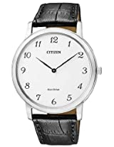 Citizen Eco-Drive Analog White Dial Men's Watch - AR1110-11B