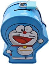 Shopperz Doraemon printed Money Box...Best suited as a takeway gift for kids parties.