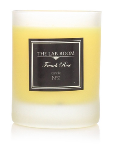 The Lab Room Aromatique Candle, French Rose, 165 gr