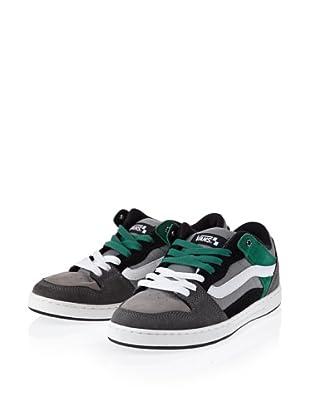 Vans Baxter VL3MBKA Herren Klassische Sneakers (Schwarz (Charcoal/Black/Green))