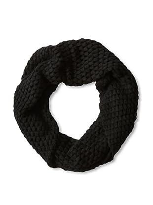 Qi Cashmere Women's Effervescent Snood (Black)