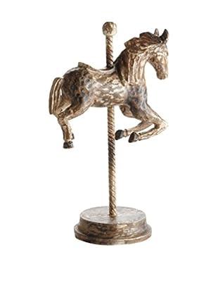 Napa Home and Garden Carousel Horse, Brown