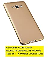 AE Luxury Metal Bumper + PC Back Fusion Case Cover for Samsung Galaxy J7 GOLD