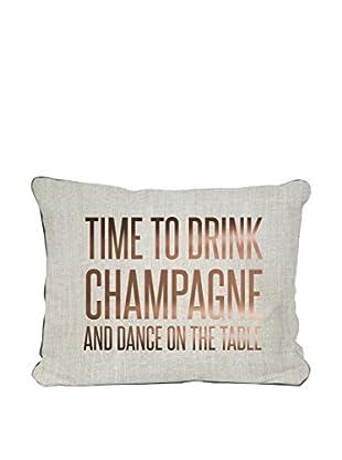 Surdic Cojín Champagne Multicolor 50 x 35 cm