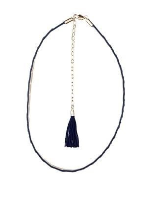 Cortefiel Cinturón Lingotes (Azul)