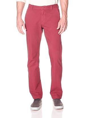Khaki Surplus Men's New York Pant (Red)