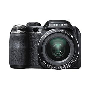Fujifilm S4400 16MP Medium Format Digital Camera with 30x Optical Zoom (Black)