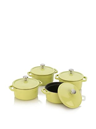 Fagor Michelle B. Mini Dutch Ovens with Lid (Lemon Lime)