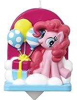 Wilton 2811-4700 My Little Pony Birthday Candle, Yellow