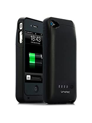 Unotec Custodia con Batteria Compatibile con Iphone4/4S