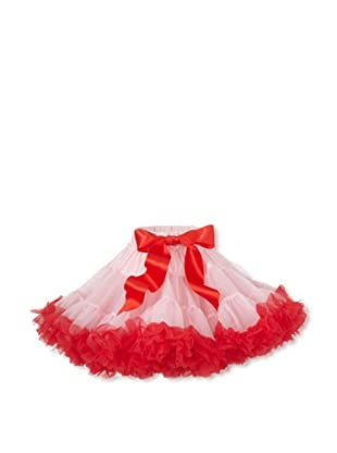 Tutu Couture Girl's Pettiskirt (Light Pink/Red)