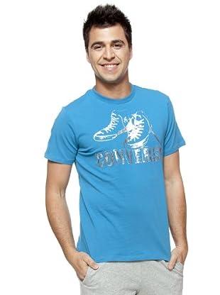 Converse Camiseta T-Nute (Azul)