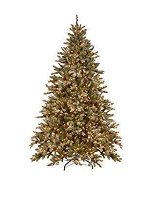 National Tree Company 7.5' Snowy Concolor Fir Hinged Tree