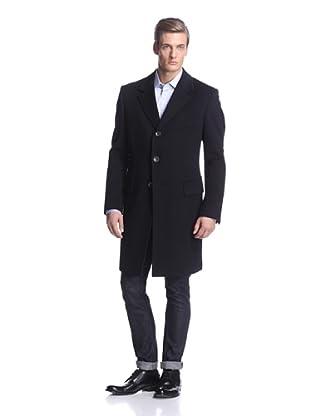 Tom Ford Men's 3-Button Overcoat (Navy)