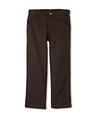 Monster Republic Boy's Plaid Pant (Brown)