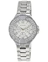 Giordano Analog White Dial Women's Watch - 60067-11