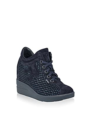 Ruco Line Sneaker Zeppa 6200 Strass Sonia