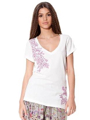 Flamenco Camiseta Bahía (blanco)