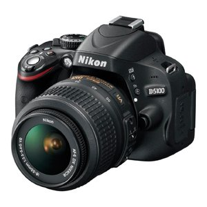 Nikon D5100 18-55mm VR Kit Lens DSLR Camera