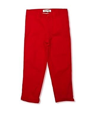Ben Sherman Pantalón Classic Chino (Rojo)