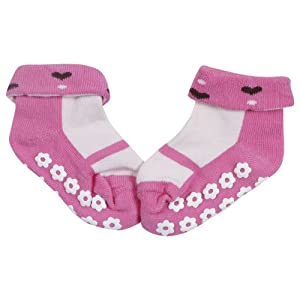 Tollyjoy Anti-Skid Socks (Pink)