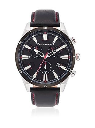 Stahlbergh Reloj de cuarzo Stavanger Negro 44 mm