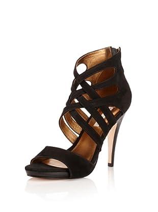 Cynthia Vincent Women's August Sandal (Black)