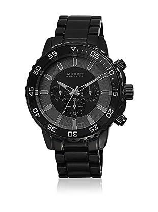 August Steiner Reloj con movimiento cuarzo suizo Man AS8101BK 47.5 mm