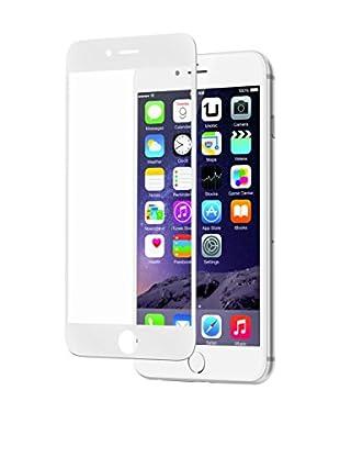 UNOTEC Schutzfolie Full Cover Lite iPhone 6/6S weiß