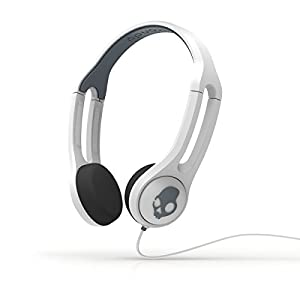 Skullcandy Icon 3 On-the-ear Headset With Mic (S5IHDY-072) - White