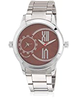 Dtmm60073 Silver/Brown Analog Watch Giordano