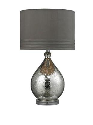 Artisitic Lighting Table Lamp, Mercury Glass