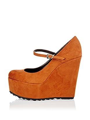 Niña Morena Zapatos Mary Jane con Cuña