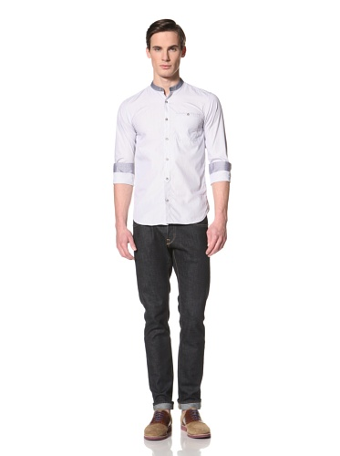 Ted Baker Men's Siandhu Button-Up Shirt (Blue)