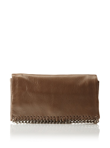 Latico Women's Billie Foldover Wallet (Metallic Taupe)