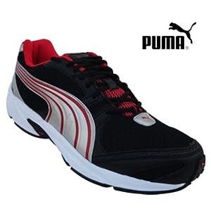 Puma Men's Sports Shoe 18698701-Blk High Risk Rd Sil