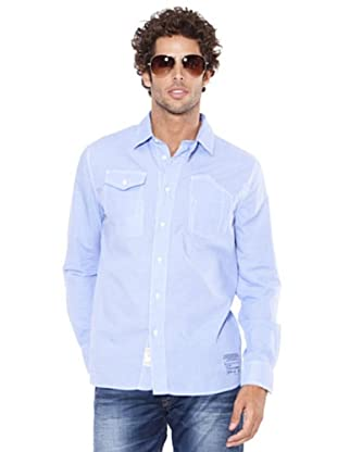 Pepe Jeans London Camisa Exeter (Azul)