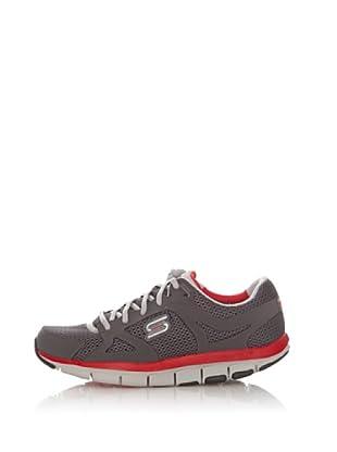 Skechers Deportivas Walking-Jogging Tecnología Liv (Gris)