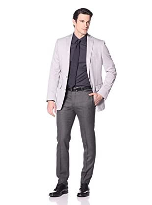 Calvin Klein Men's Maitland Knit Sportcoat (Grey)