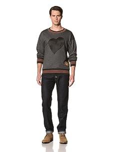 Vivienne Westwood Men's Heart Sweater (Charcoal)