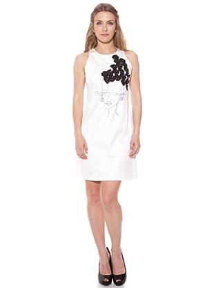 Divina Providencia Vestido Mujer (Blanco)