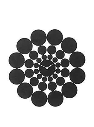 Premier Housewares Wanduhr Black Discs